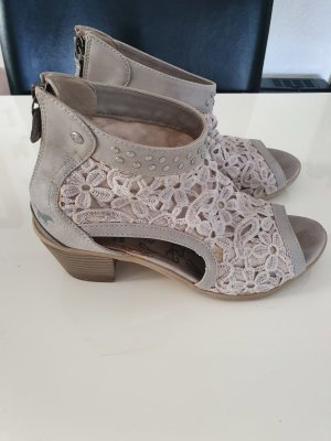Mustang Wedge Sandals light grey