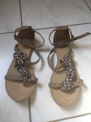 Beach Sandals grey brown