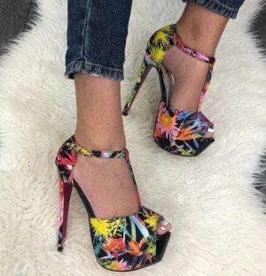 Sandaletto con tacco alto nero
