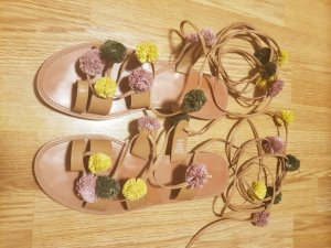Pull & Bear Roman Sandals multicolored