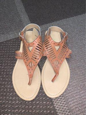 Atmosphere Toe-Post sandals brown-beige