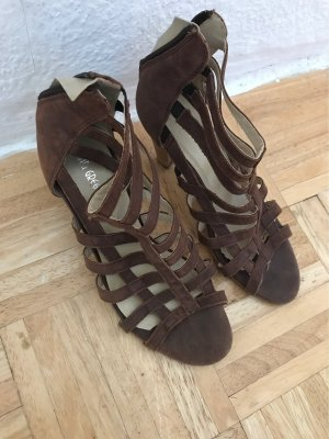 Gianni Gregori Roman Sandals brown