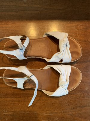 Sandales à lanière blanc