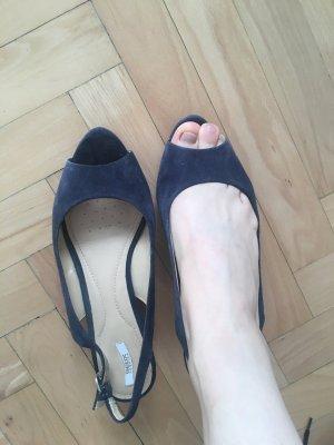 Geox Respira Sandalo outdoor blu scuro