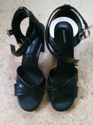 Sandalias para uso en exteriores negro