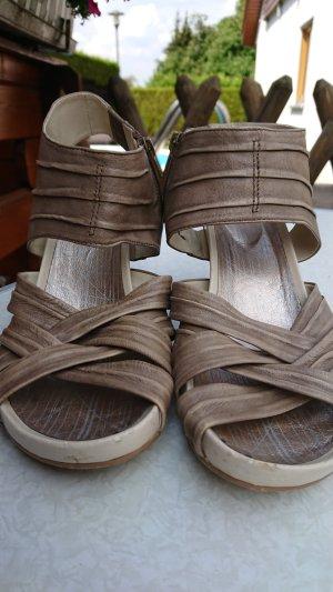 Spm High Heel Sandal oatmeal