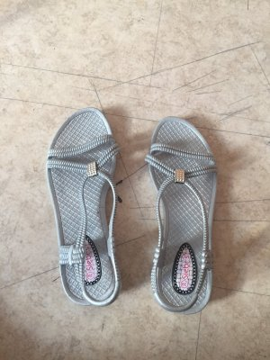 Strapped Sandals light grey