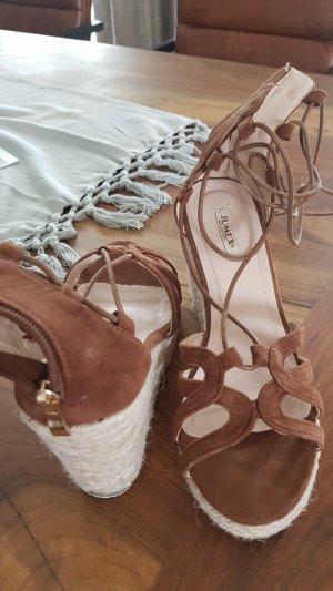 Jumex High-Heeled Sandals brown