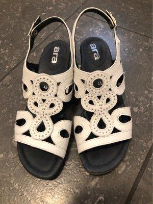 ara Comfort Sandals white