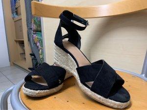 H&M Espadrille Sandals black-beige