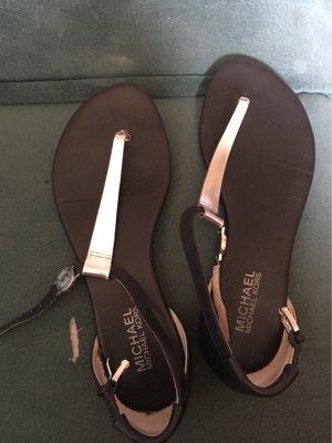 Michael Kors Flip-Flop Sandals black