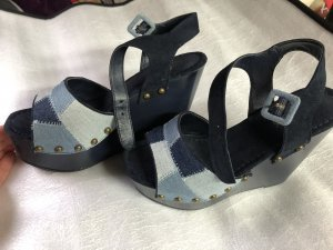 Catwalk Platform Sandals steel blue