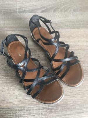 Graceland Comfort Sandals black