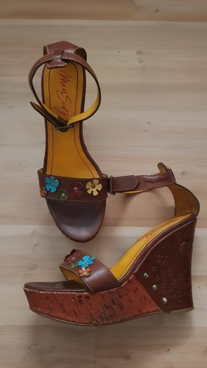 Miss Sixty High Heel Sandal brown-cognac-coloured