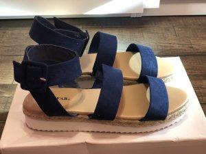 Just Fab Clog Sandals blue