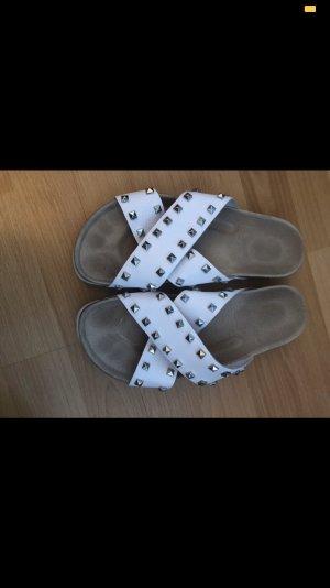 Sandale d'extérieur blanc