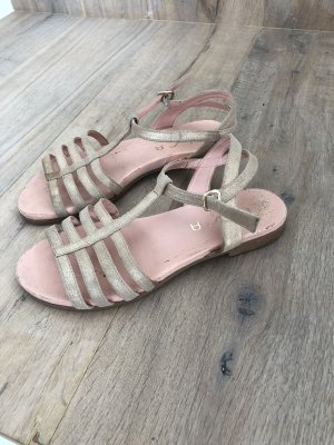 Unisa Roman Sandals gold-colored