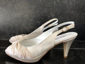 Sandalo bianco sporco