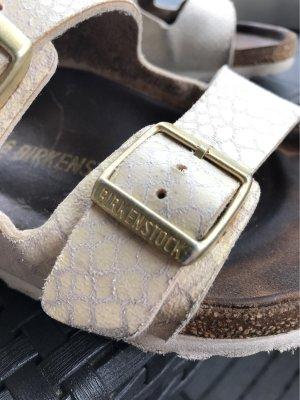Birkenstock Comfort Sandals cream-oatmeal