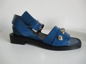 Attitude Sandalias negro-azul Cuero