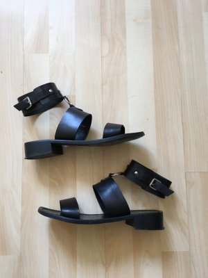 Sandalen aus Leder Gr 40