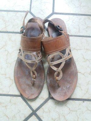 Sandalen aus Leder von Esprit