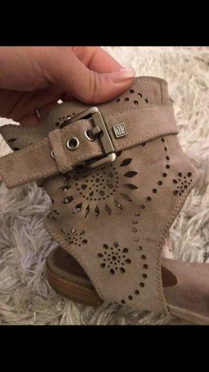 Jette Joop Comfortabele sandalen beige