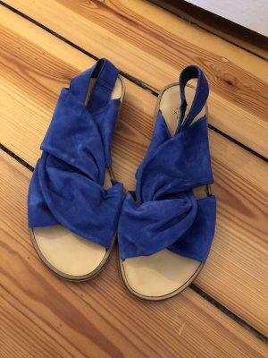 Sandalen aus Wildleder von Kauf dich Glücklich 38