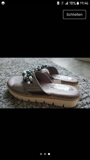 Tamaris Clog Sandals multicolored