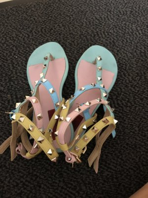 Toe-Post sandals multicolored