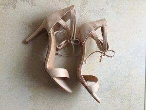 High Heel Sandal cream imitation leather