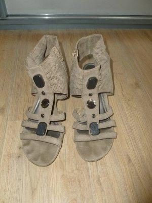 Bonita Comfortabele sandalen camel