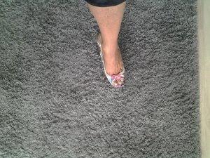 sandalen bunt korbabsatz