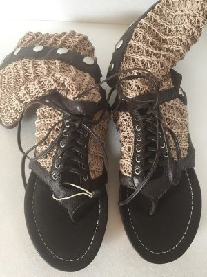 Cycle Strapped Sandals brown leather