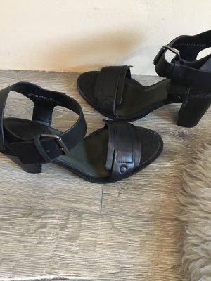 Gstar Sandalias de tacón de tiras negro