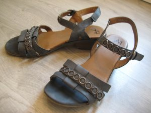 Anna Field Sandalen met bandjes donkerblauw-leigrijs Synthetische vezel