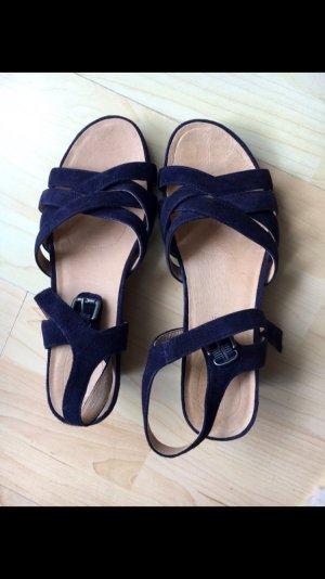 Sandalen dunkelblau Gr. 39