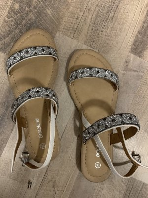Graceland Outdoor Sandals white-dark brown