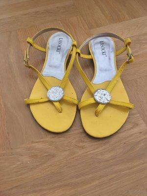 Lasocki Sandalo da spiaggia giallo