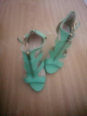 High Heel Sandal turquoise