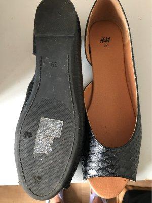 H&M Sandalias cómodas negro