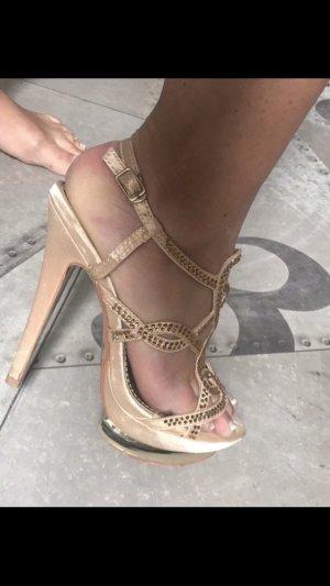 High Heel Sandal cream
