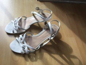 Sandalen, ESPRIT, weiß, Gr. 37, Absatz 4 cm, sehr bequem