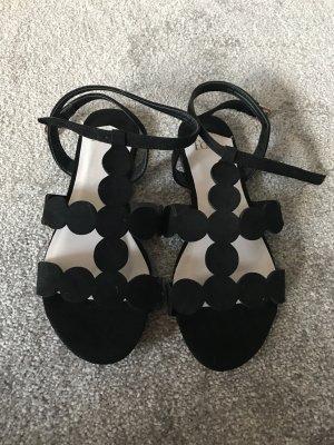 Faith Sandalo con cinturino nero-crema