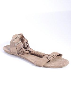 Sandalen Fesselriemen in khaki