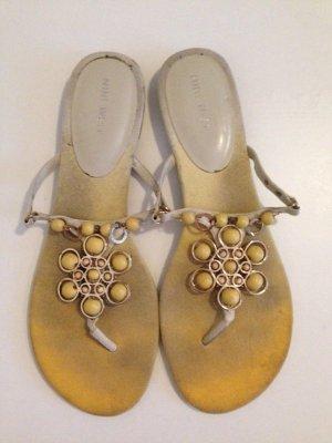 Sandalen/ Flip Flops von Nine West, Gr. 41, echtes Leder