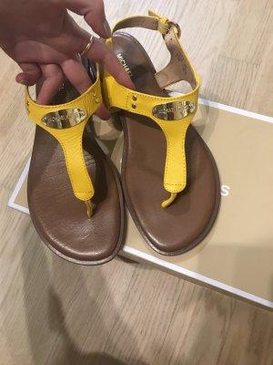 Sandalen gelb Michael Kors