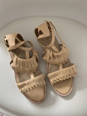 Sandalo romano crema