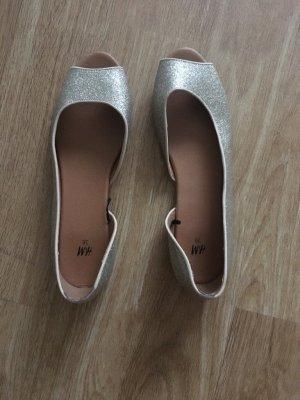Sandalen Gold H&M Größe 38