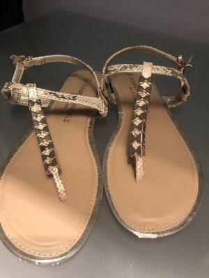 Roman Sandals bronze-colored-gold-colored